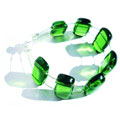 "Green ""Multimono mini"" bracelet"