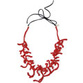 Red Coralla necklace