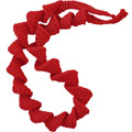 Red Spirals necklace