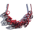 Red Rings necklace