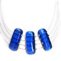 Blue Trio necklace