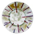 Ororame glass plate