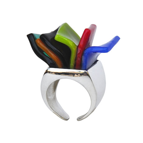 Anello Libretto multicolor