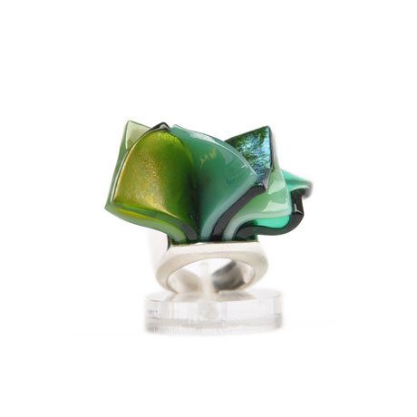 Green Libretto ring