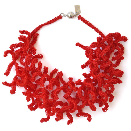 Red Coralla Double necklace