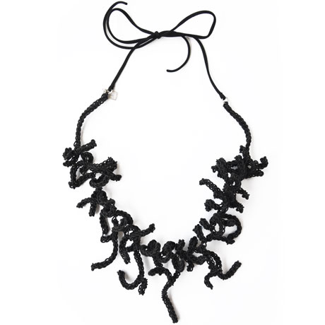 Black Coralla necklace