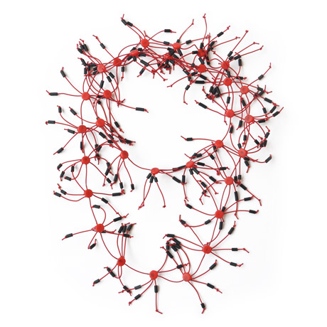 "Red ""Ragnetti"" Necklace"