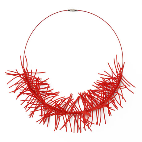 Red Spinoza necklace