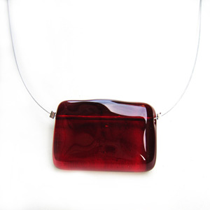 Red Mono necklace