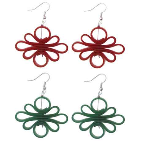 Sinuosi earrings